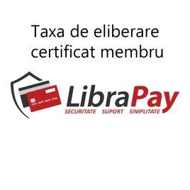 Taxa eliberare certificat membru