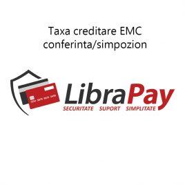 Taxa creditare EMC conferinta/simpozion