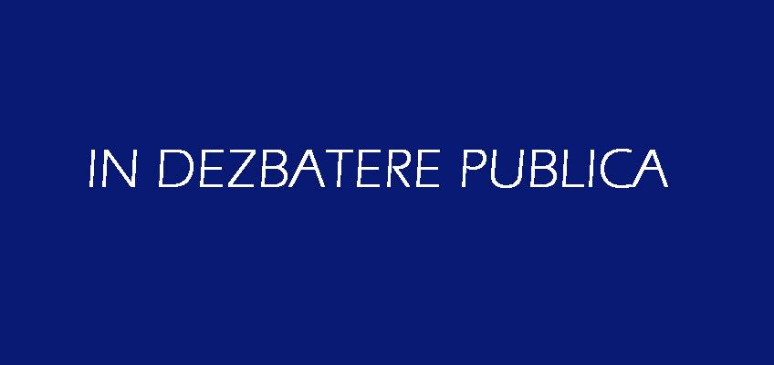 Ordin Ministerul Sanatatii in dezbatere publica